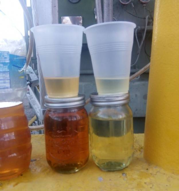 transformer-oil-purification-samples-before ad after