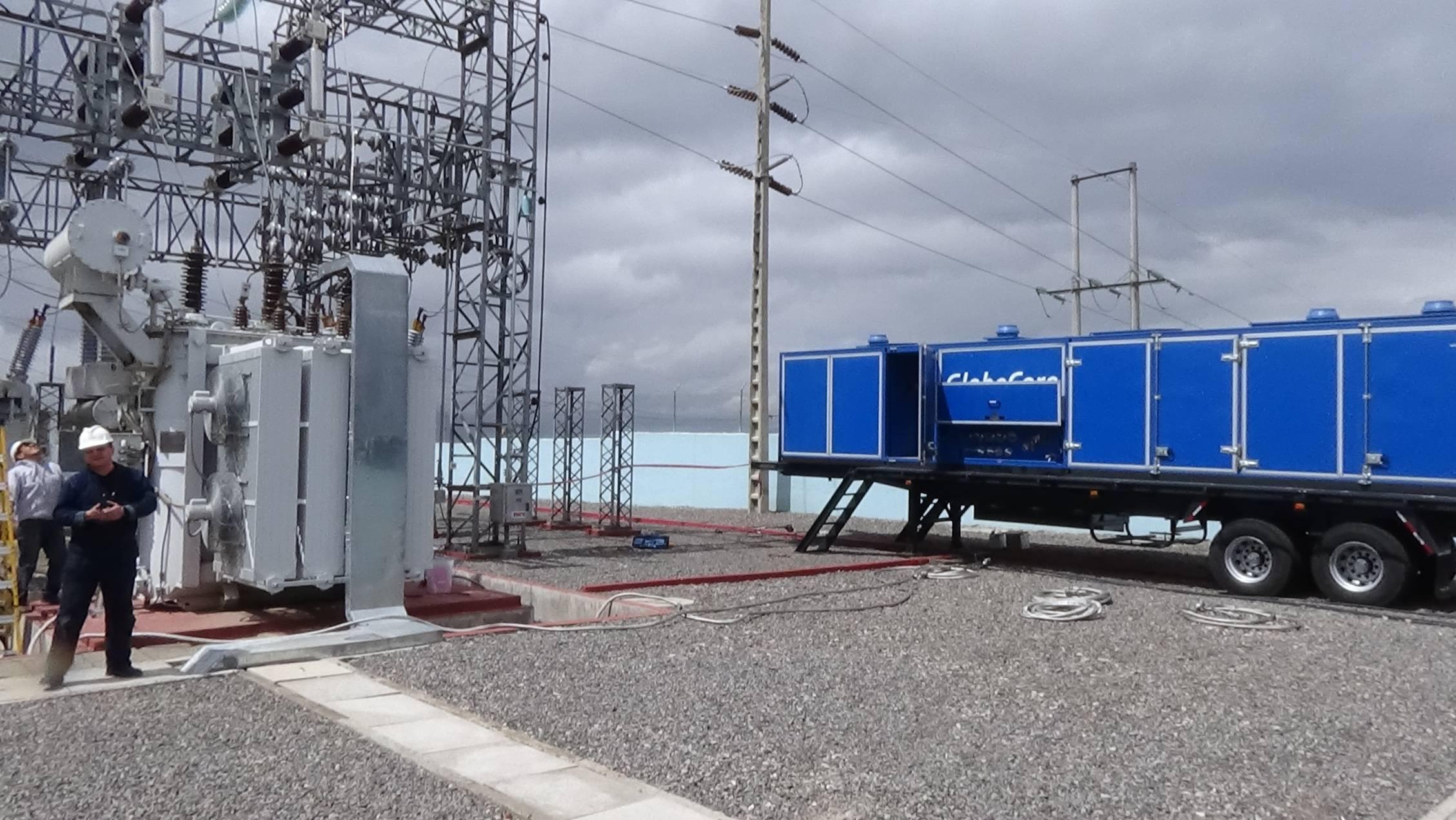 regeneración de aceite de transformador
